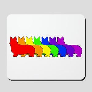 Rainbow Pembroke Mousepad