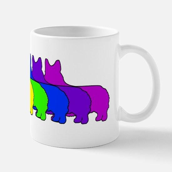 Rainbow Pembroke Mug