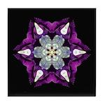 Purple Pansy I Tile Coaster