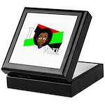 I vote (red, black & green) Keepsake Box