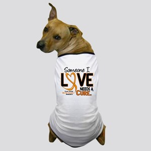 Needs A Cure 2 MULTIPLE SCLEROSIS Dog T-Shirt