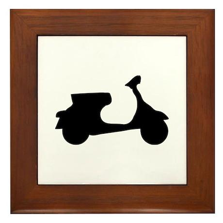 scooter Framed Tile