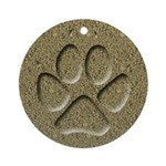 Dog Track Keepsake Ornament