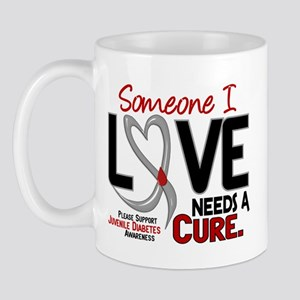 Needs A Cure 2 JUVENILE DIABETES Mug