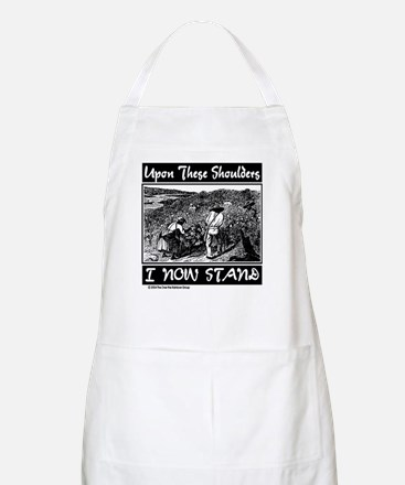 """Upon These Shoulders"" BBQ Apron"