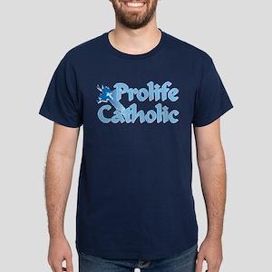 Prolife Catholic Cross Dark T-Shirt