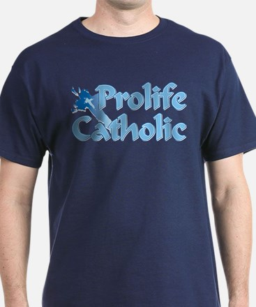 Prolife Catholic Cross T-Shirt