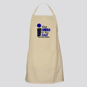 I Wear Blue For My Daddy 9 CC BBQ Apron