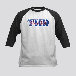 TKD - Black Belt Kids Baseball Jersey