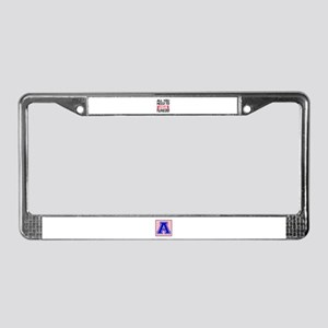 All You Need To Love tuxedo Ca License Plate Frame