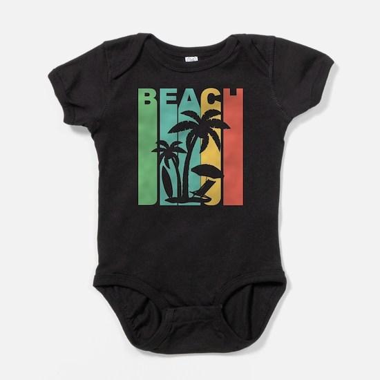Vintage Beach Graphic T Shirt Body Suit