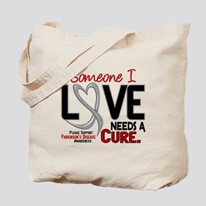 Needs A Cure 2 PARKINSONS Tote Bag