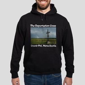 Deportation Cross Hoodie (dark)