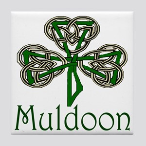 Muldoon Shamrock Tile Coaster