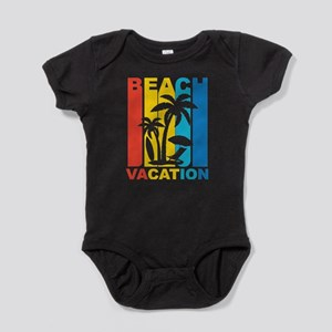Vintage Beach Vacation Graphic T Shirt Body Suit