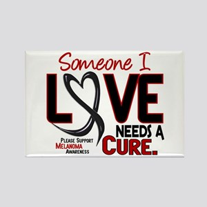 Needs A Cure 2 MELANOMA Rectangle Magnet