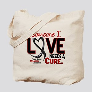 Needs A Cure 2 MELANOMA Tote Bag