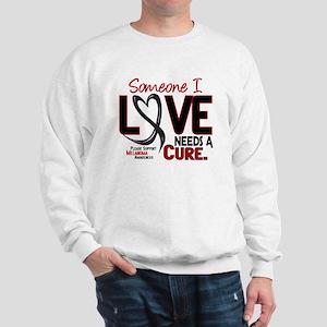Needs A Cure 2 MELANOMA Sweatshirt