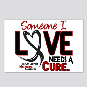 Needs A Cure 2 MELANOMA Postcards (Package of 8)
