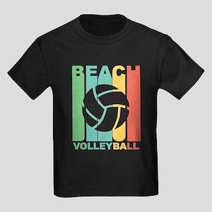 Vintage Beach Volleyball Graphic T Shirt T-Shirt