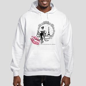Paris Couture Hooded Sweatshirt