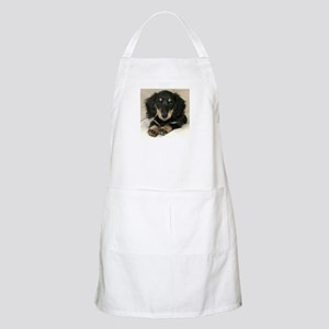 Long Haired Puppy BBQ Apron