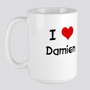I LOVE DAMIEN Large Mug