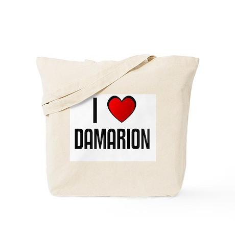 I LOVE DAMARION Tote Bag