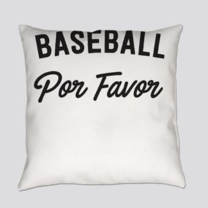 Baseball por favor t-shirt design Everyday Pillow