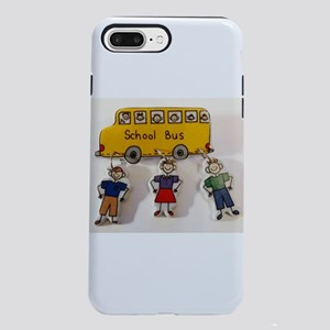 Yellow School Bus iPhone 8/7 Plus Tough Case