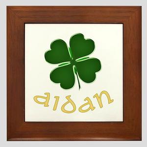 Aidan Irish Framed Tile