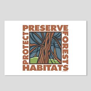 Preserve Forest Habitats Postcards (Package of 8)