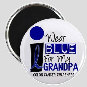 I Wear Blue For My Grandpa 9 CC Magnet