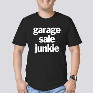 Garage Sale Junkie Men's Fitted T-Shirt (dark)