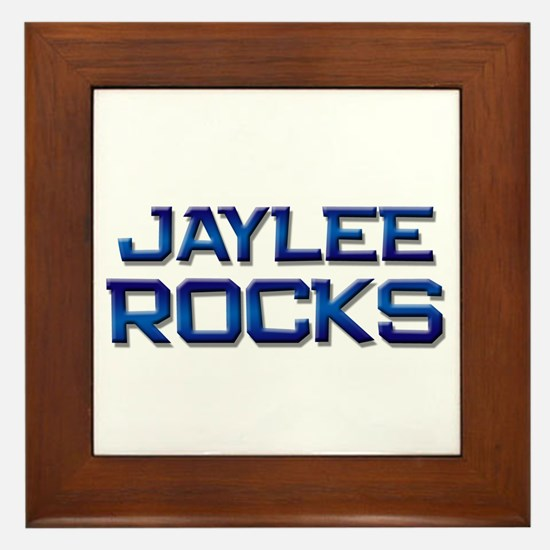 jaylee rocks Framed Tile