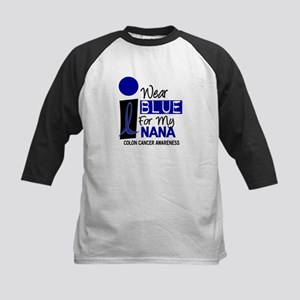 I Wear Blue For My Nana 9 CC Kids Baseball Jersey