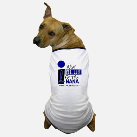 I Wear Blue For My Nana 9 CC Dog T-Shirt