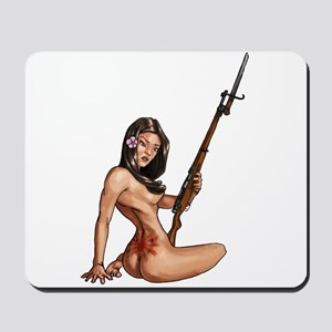 Japanese girl Mousepad