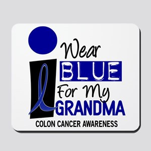 I Wear Blue For My Grandma 9 CC Mousepad