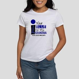 I Wear Blue For My Grandma 9 CC Women's T-Shirt