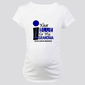I Wear Blue For My Grandma 9 CC Maternity T-Shirt