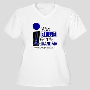 I Wear Blue For My Grandma 9 CC Women's Plus Size