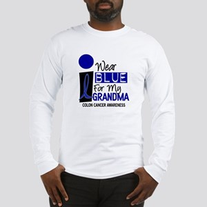 I Wear Blue For My Grandma 9 CC Long Sleeve T-Shir