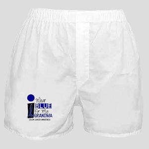 I Wear Blue For My Grandma 9 CC Boxer Shorts