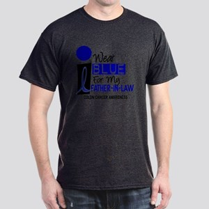 I Wear Blue For My Father-In-Law 9 CC Dark T-Shirt