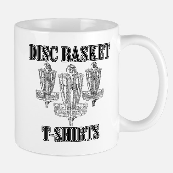 Disc Basket T-Shirts Mug