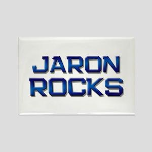 jaron rocks Rectangle Magnet