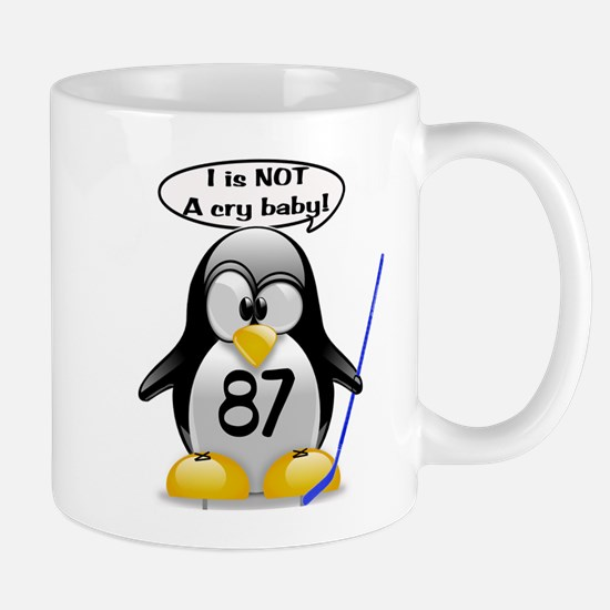I is NOT a cry baby Mug