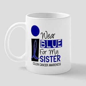 I Wear Blue For My Sister 9 CC Mug