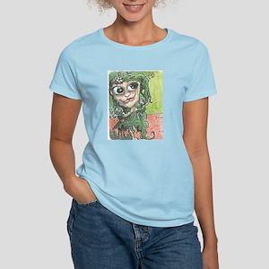 Female Goblin-Women's Pink T-Shirt